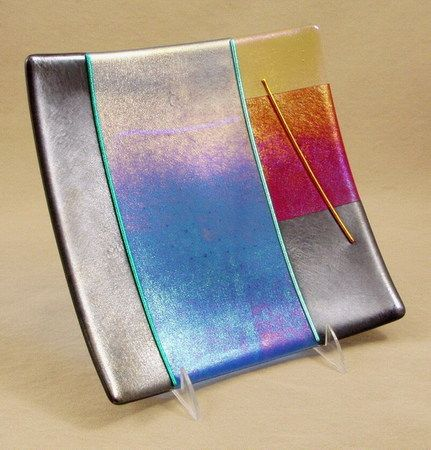 Superior Fused Glass Plates 8 12 Beautiful Designs Of Fused Glass Plates