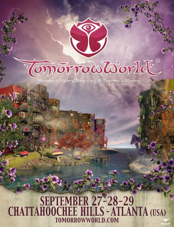 Tomorrowland Festival Poster 2015 Google Search Funky House