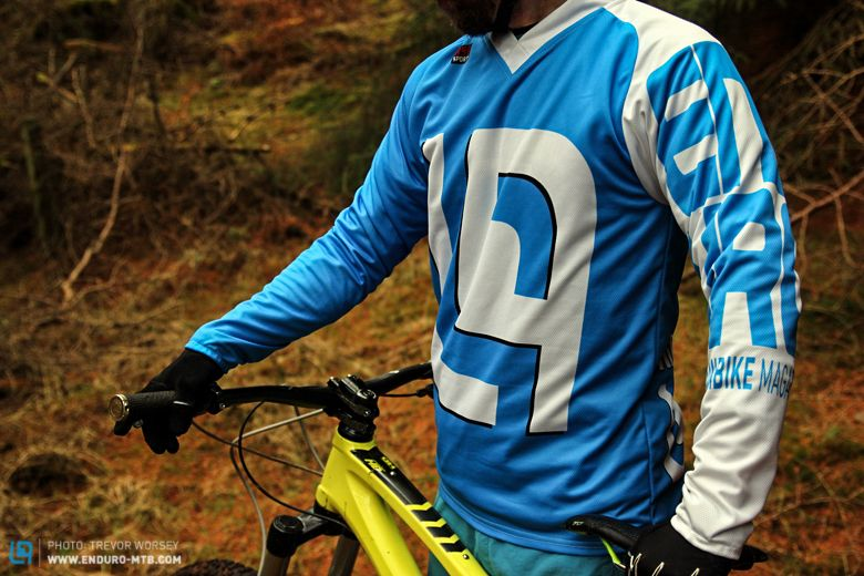 928d198fb Review  Custom printed RSD Sports enduro jersey
