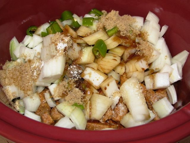 Slow Cooker Sweet & Sour Pork by colleengreene, via Flickr