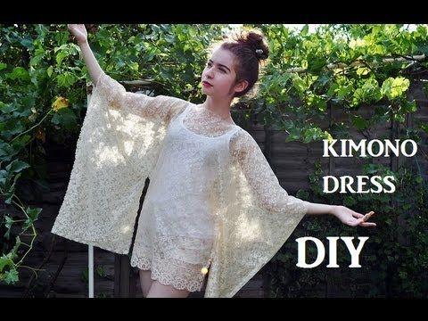 How to make a Japanese Kimono inspired dress | clothes ~ KIMONO ...