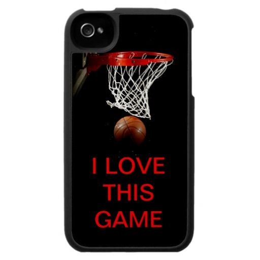 I Love This Game - Basketball Speck Cases
