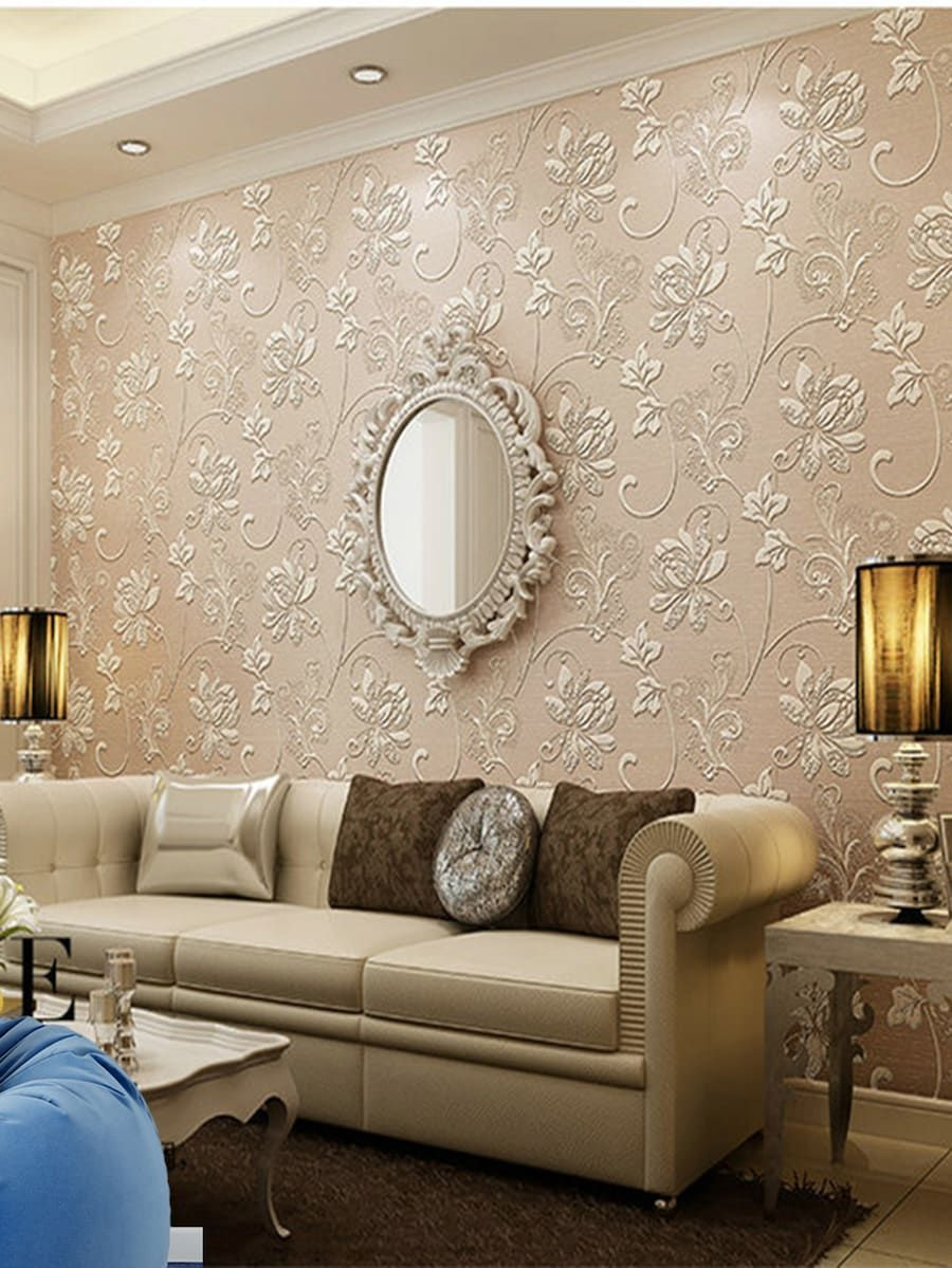 3d Floral Print Wall Sticker Shein Sheinside Rooms Home D