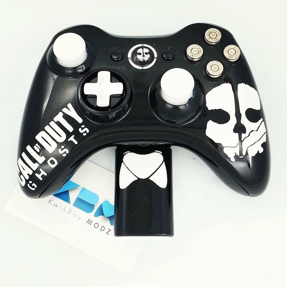 Call Of Duty Ghosts Xbox 360 Controller Kwikboy Modz Customcontroller Callofduty Callofdutyghosts Ghosts Cod Modd Call Of Duty Call Of Duty Ghosts Xbox