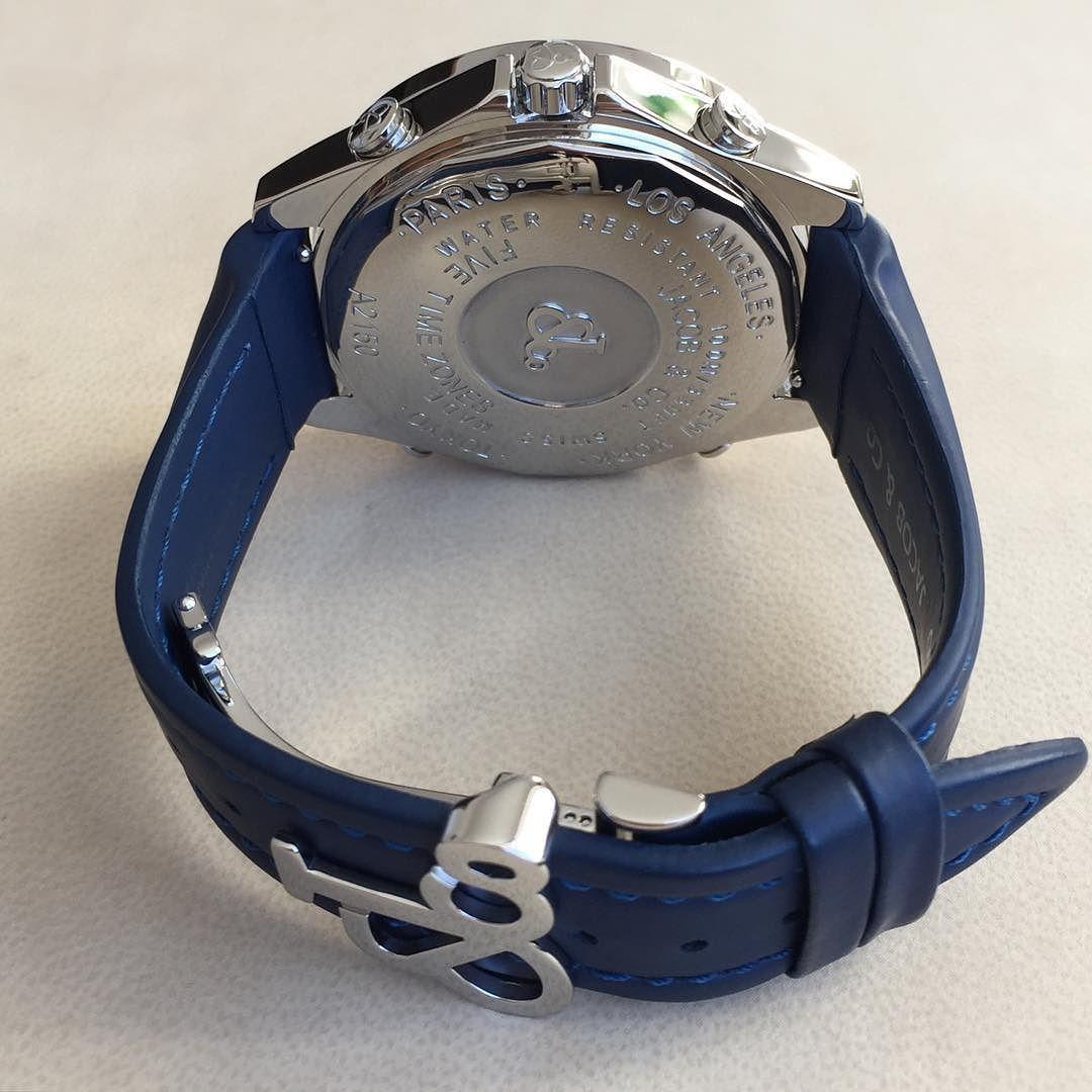 Jacob & Co Five Time Zone Almaty Edition стальные quartz на клипсе. 8500$ by luxury_watches_kz