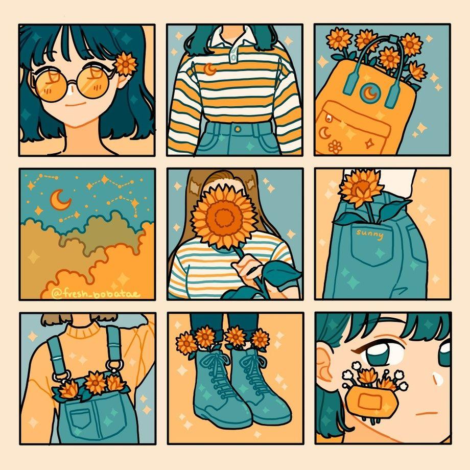 squares, an art print by fresh_bobatae