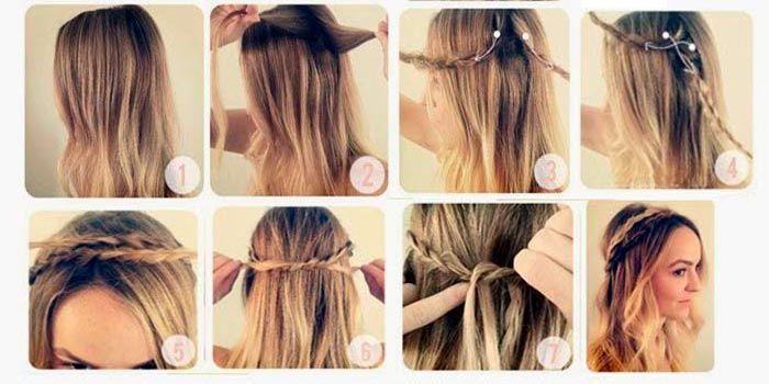 peinados faciles y rapidos con el pelo suelto Buscar con Google