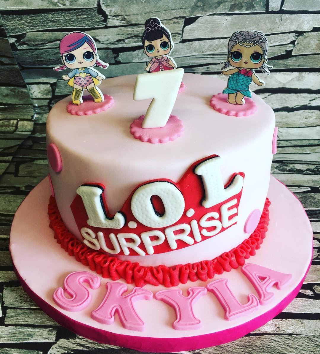 Lol surprise cake for a birthday princess birthdaycake