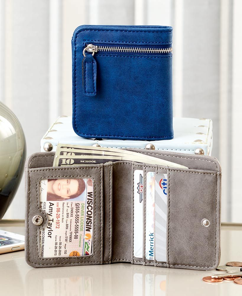 Idcredit card rfid compact wallets american express