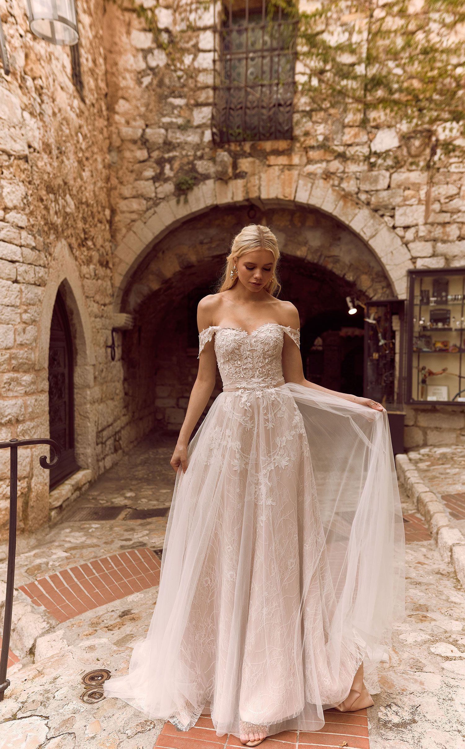 The soft romance H A R M O N Y gown by Madi Lane Bridal | style number: ML8419 #weddingdress