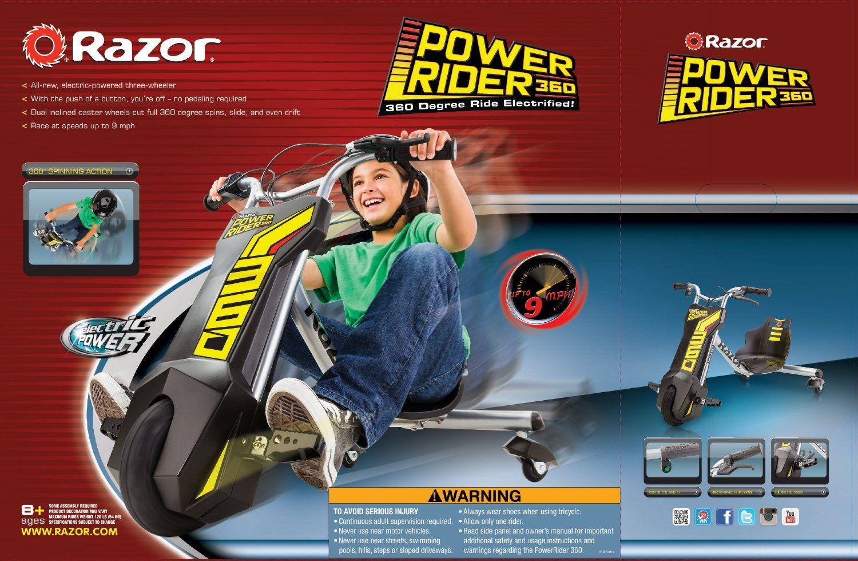 Razor PowerRider 360 Electric Tricycle