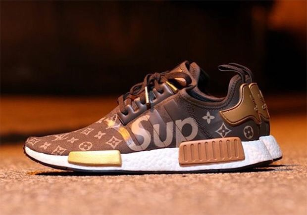 be302e116f9f Supreme Louis Vuitton Adidas NMD custom - sneaker news