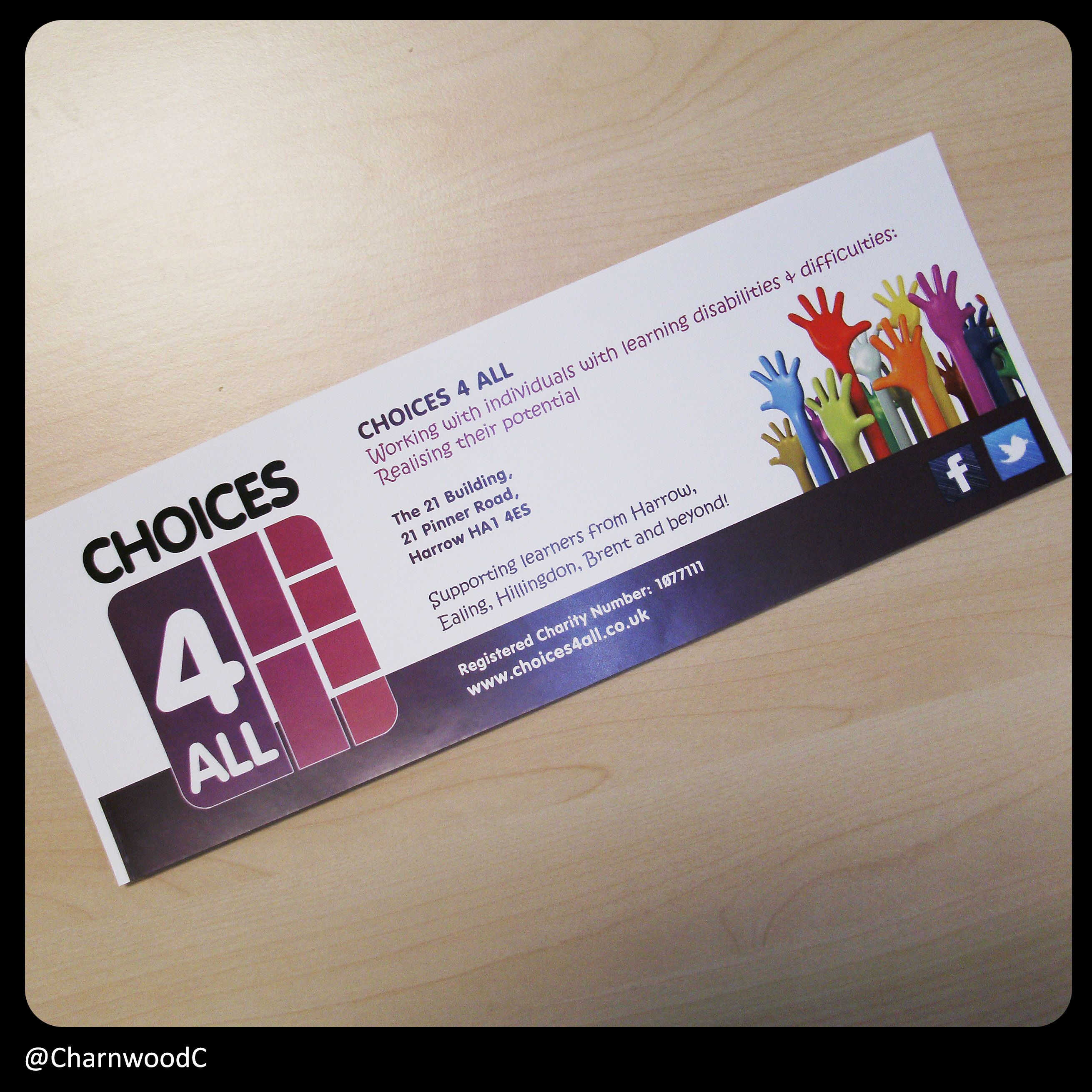 Custom printed collection box labels for choices 4 all a great custom printed collection box labels for choices 4 all a great charity choices reheart Images
