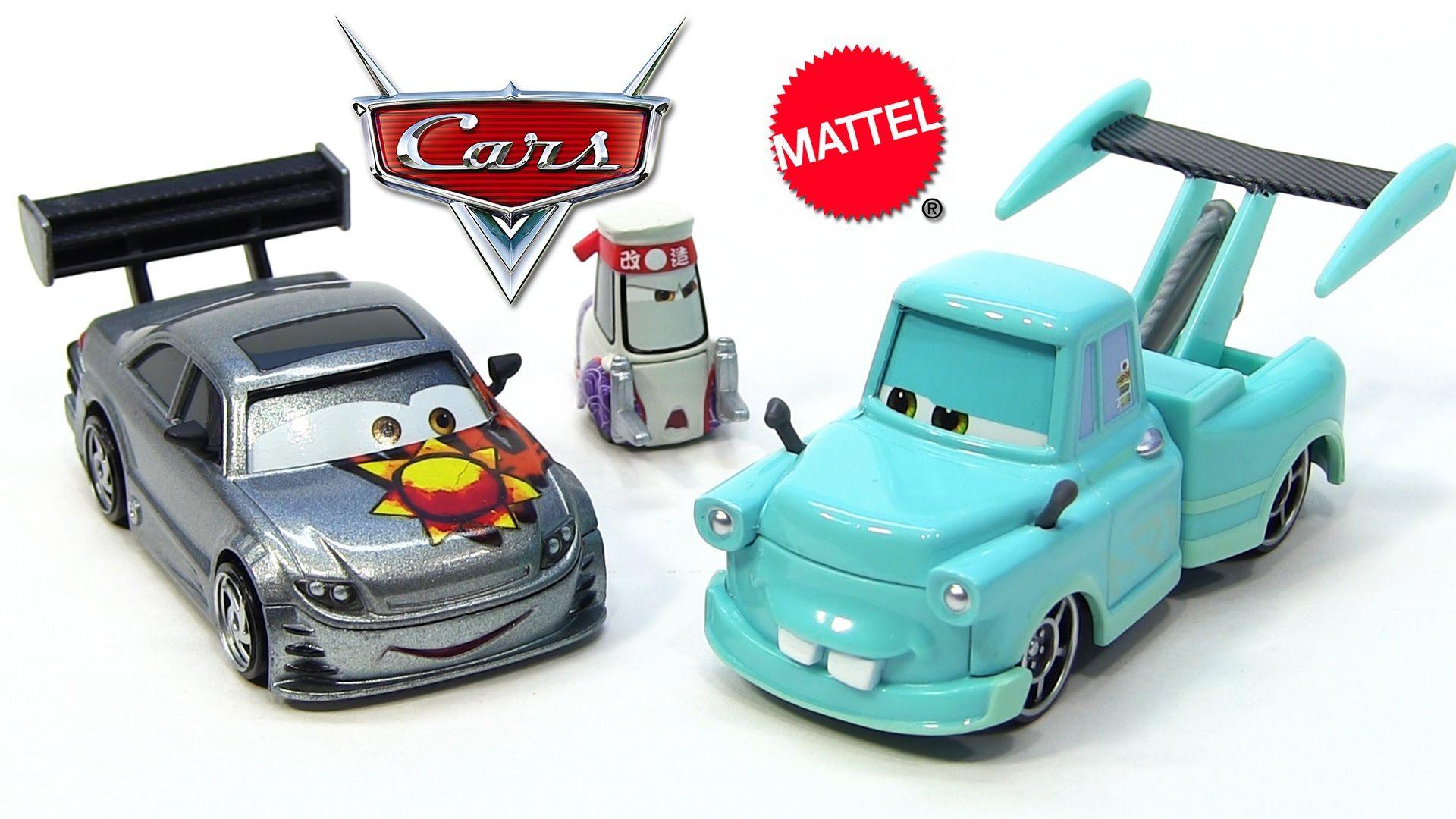 2014 Disney Pixar Cars Toon Tokyo Mater DieCast Cars 3