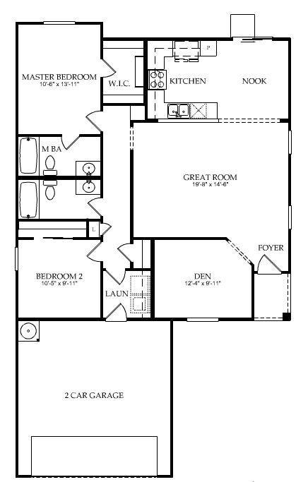 Centex Homes Explorer Floor Plan Floor Plans How To Plan Flooring