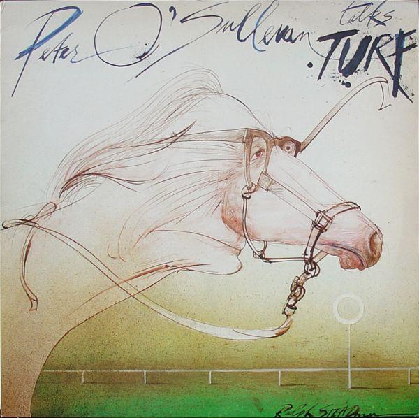 1983 Peter O'Sullevan Talks Turf (LP) [Charisma CAS1160] artworks: Ralph Steadman #albumcover