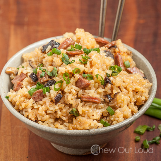 Chinese Sticky Rice - Chew Out Loud