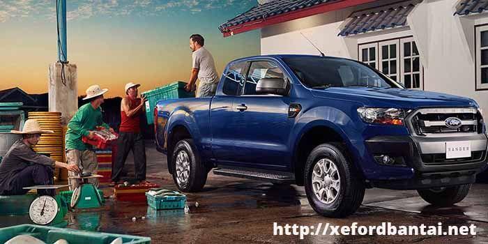 Sức mạnh của xe bán tải Ford Ranger Wildtrak 3.2, 2.2, XLS, XLT 2018 với khả năng chứa từ 600kg đến 960 kg