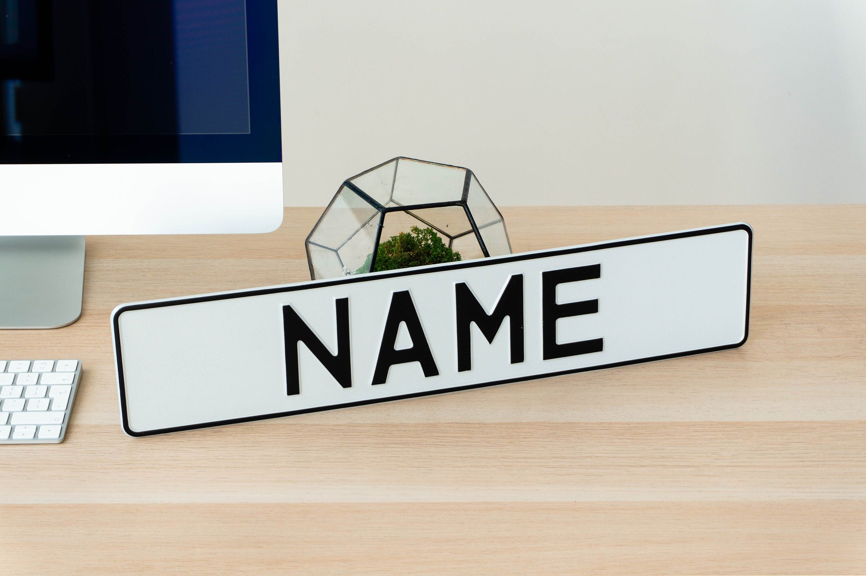 Excited to share this item from my #etsy shop: Mockup License Name White Plate Home Decor Metal Art Personalized Delete Cover Interior Funny Custom Gift Aluminum Gift Papa Dad Brother Boy #everythingelse #white #birthday #black #valentinesday #homemetal #metalplate #funnylicense #funnyplate