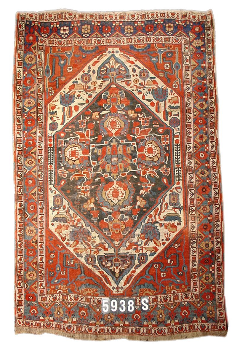 Khamseh 19th C (4th Q) South Persian Tribal