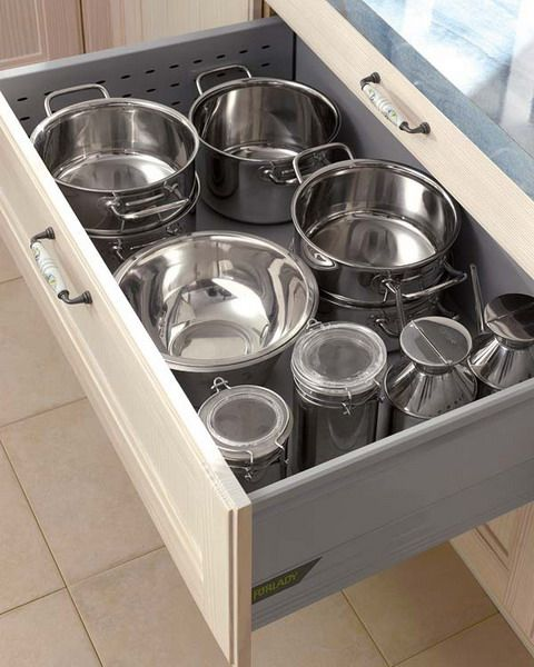Kitchen Cabinets Organizing Ideas: Kitchen Drawer Organization Ideas And I Don't Mind Metal