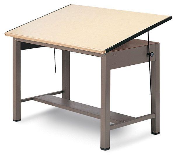Mayline Ranger Steel Four-Post Drawing Tables | BLICK Art ...