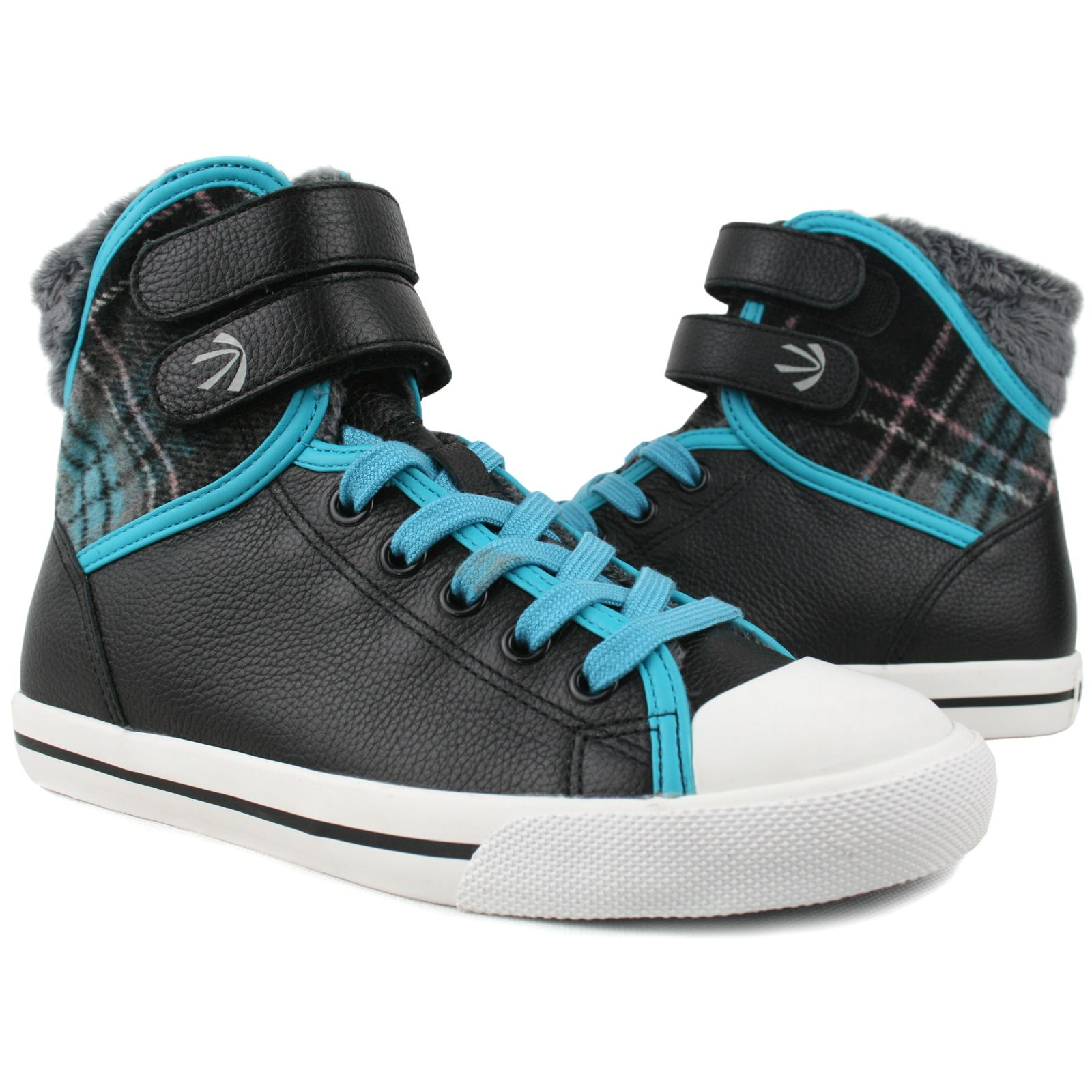 Burnetie Women's Leather High Top Strap | Leather high ...