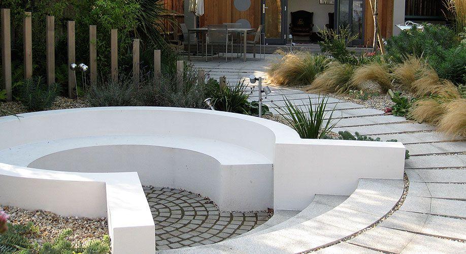 Sunken seating new garden inspiration pinterest for Sunken outdoor seating