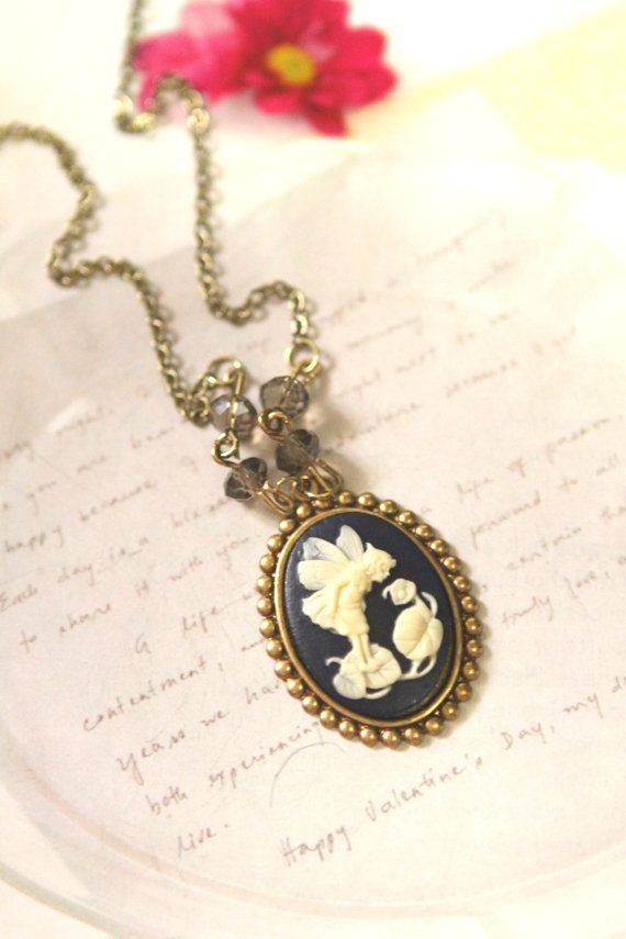 small cameo necklace #necklace #cameo #cute #kawaii