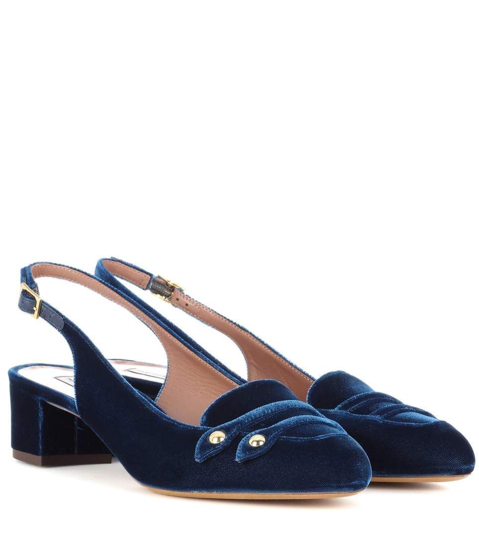 strap detail pumps - Blue Tabitha Simmons apLmJwjYD