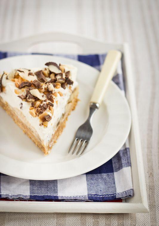 2a39d1e77ff Kokkama Ragnega: Banoffee kook ehk kiire küpsetamata kook banaanide, iirise  ja vahukoorega
