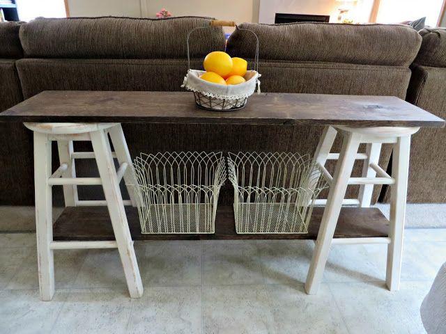 best 25 side table decor ideas on pinterest diy sofa. Black Bedroom Furniture Sets. Home Design Ideas
