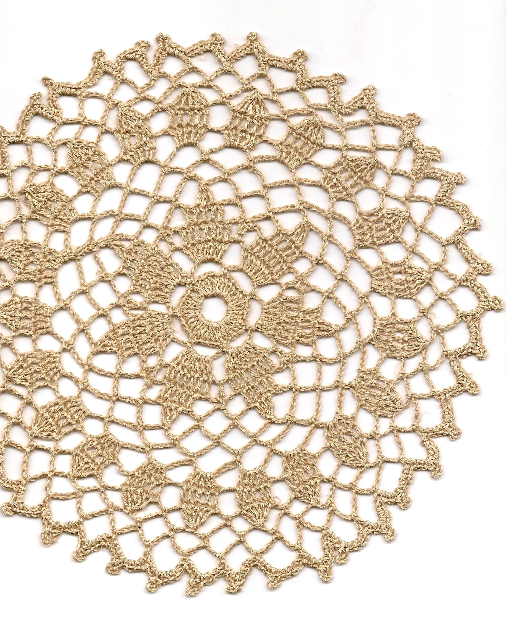 Lavori Antichi All Uncinetto.Eco Friendly Crochet Doily Lace Lacy Doilies Elegant Linen