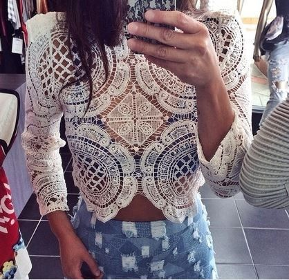 Chasity Lace Top