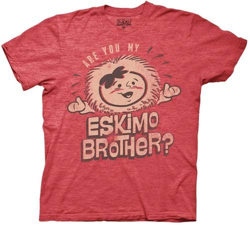 The League Are You My Eskimo Brother? Red T-Shirt - Ripple Junction - The League - T-Shirts at Entertainment Earth