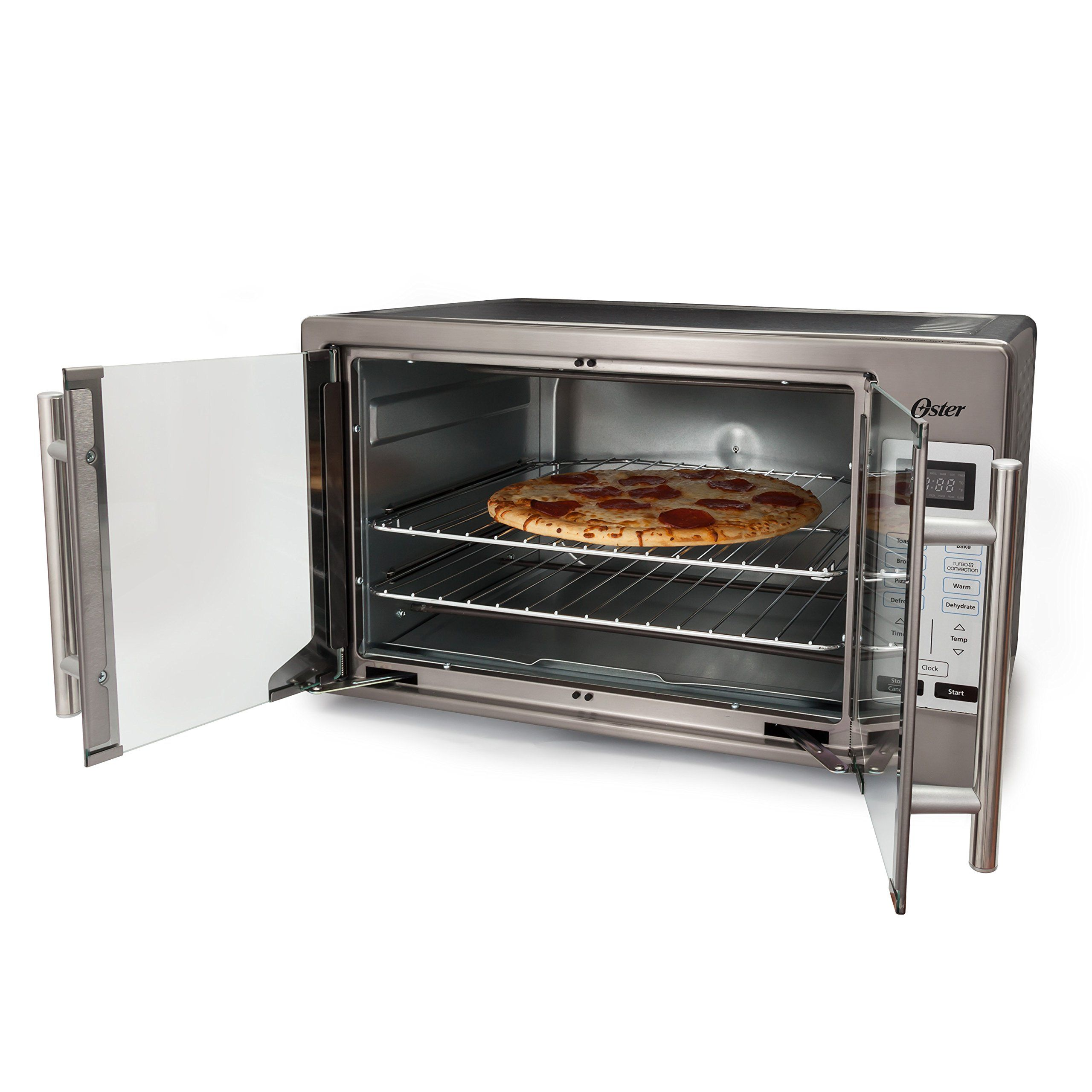 Oster Tssttvfddgds Collection French Door Oven Extra Large Black