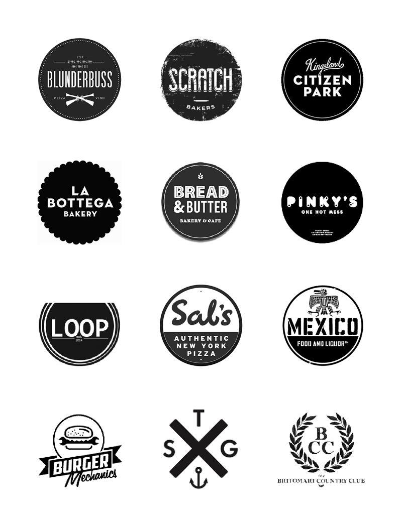 auckland-logos-01 | design :: BRAND | Pinterest | Logos, Hipster ...