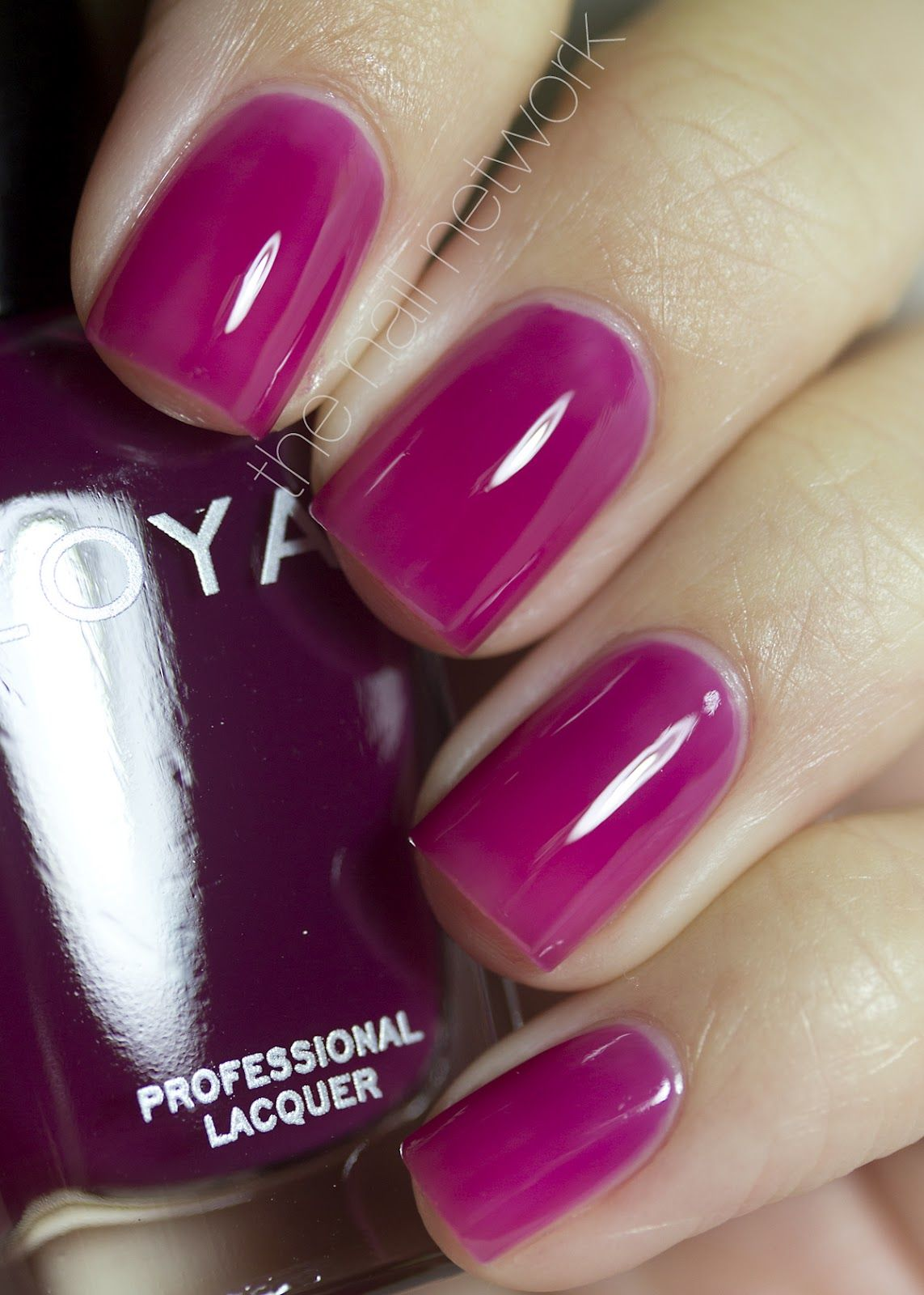 The Nail Network: Zoya Gloss Collection in paloma   nails   Pinterest