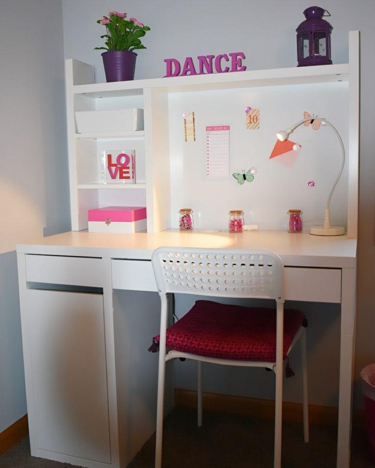 Ikea Micke Schreibtisch Mit Bildern Micke Schreibtisch