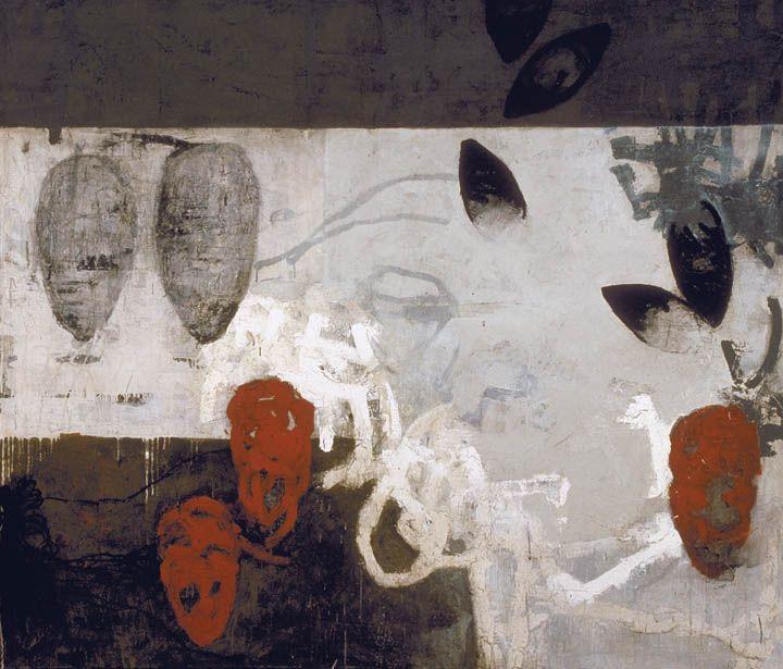 John O'Connell  Waking, 2005. Mixed Media, 72 x 84