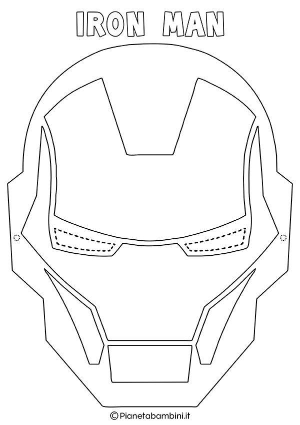 Maschere di supereroi da colorare per bambini pinterest for Flash da colorare