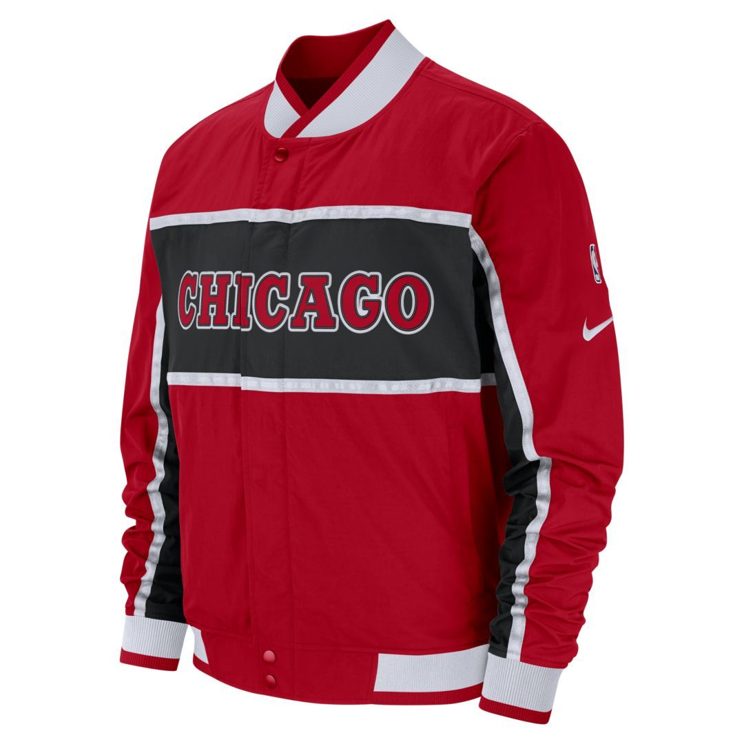 Chicago Bulls Nike Courtside Men's NBA Jacket Size 2XL