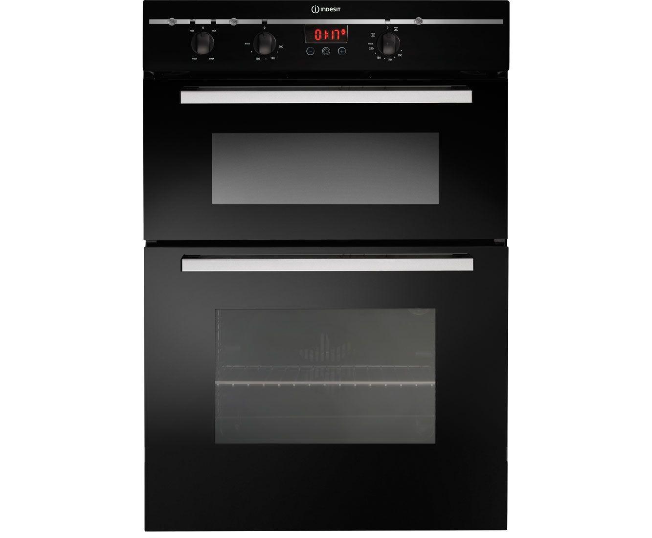 Indesit fimdbks built in double oven black appliances pinterest