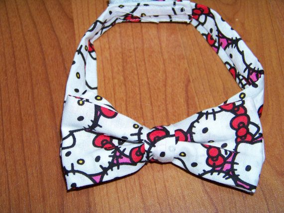 hello kitty child sized bowtie dress up bow tie by playpatch, $15.00