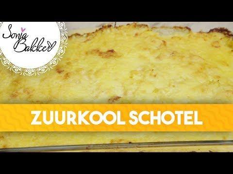 ZUURKOOL SCHOTEL | Sonja Bakker recept