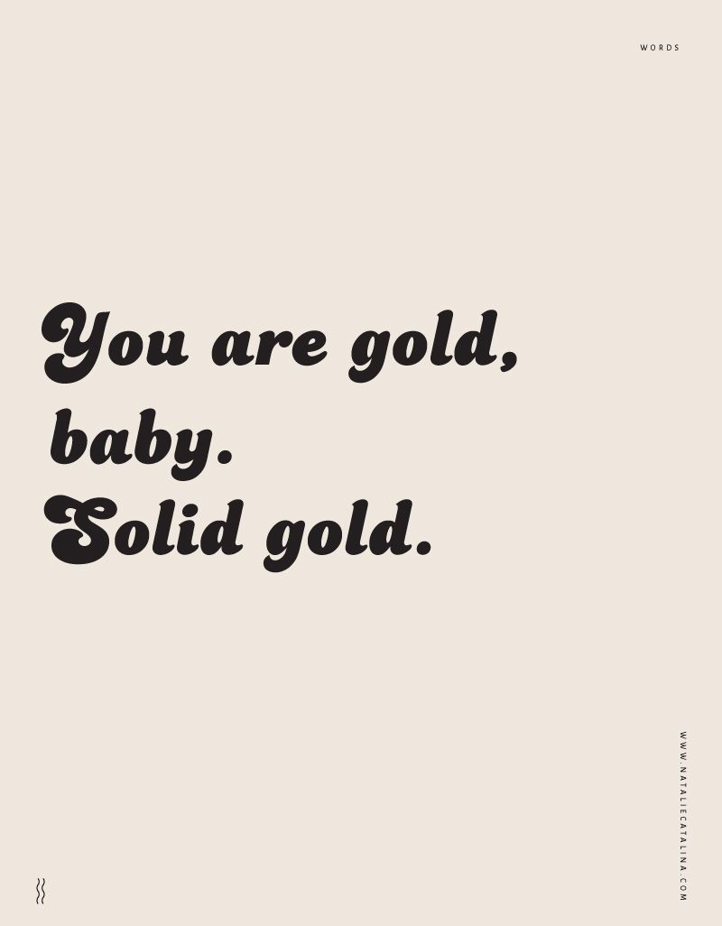 Words. — Natalie Catalina