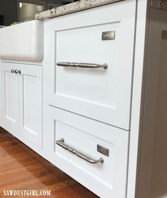 Dishwasher Drawers with Custom Panels | Built in dishwasher, Basement remodel diy, Drawer dishwasher