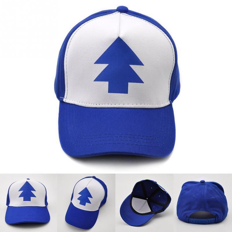 1PC Baseball Hat Gravity Falls cap Adjustable Trucker Caps Curved Bill  Dipper Parent-child Baseball Hat 4a1110cad008