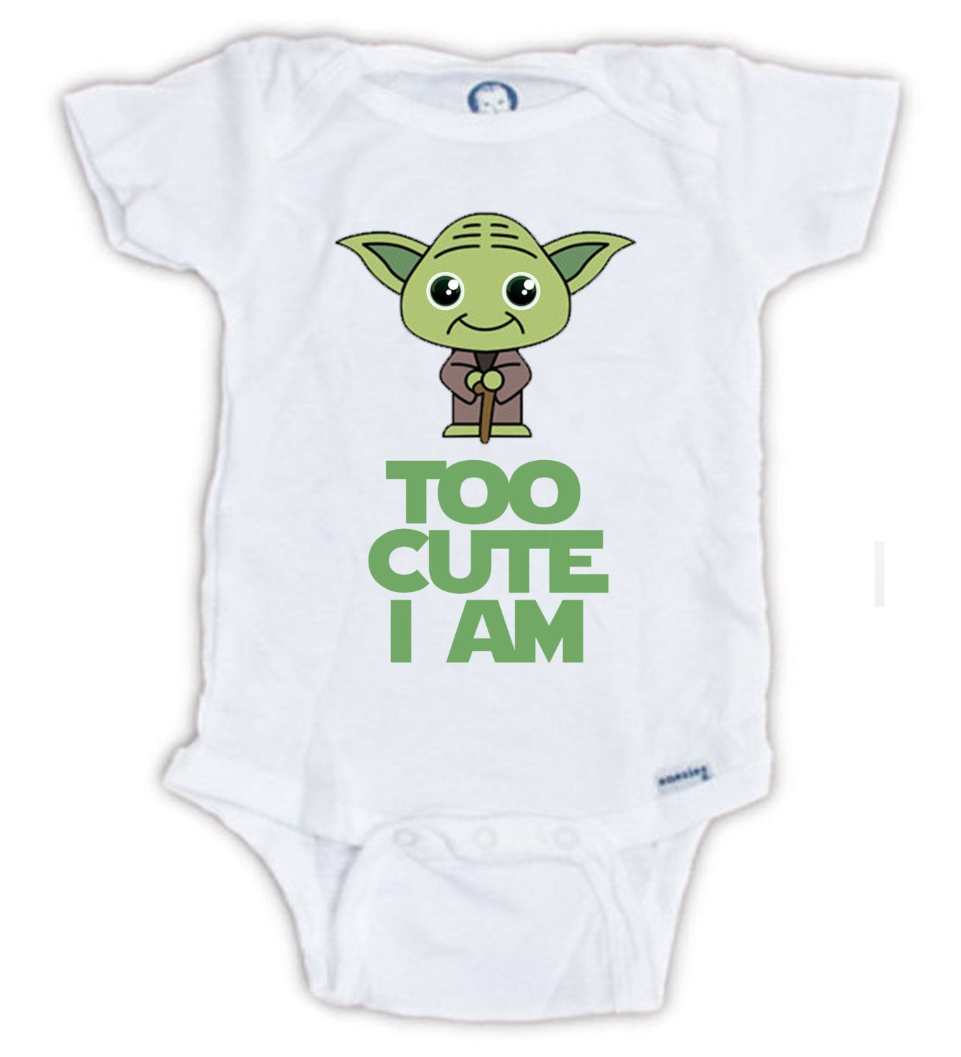 Yoda esie Star Wars Star Wars birthday shirt Star Wars baby