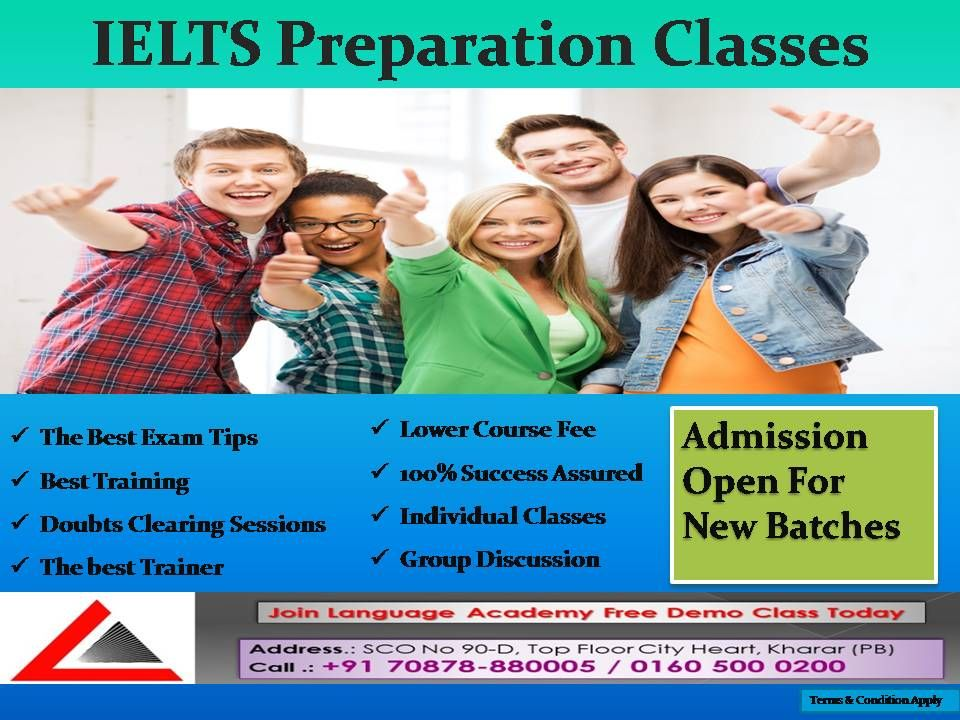 **IELTS ADMISSIONS OPEN** Language Academy helps you in